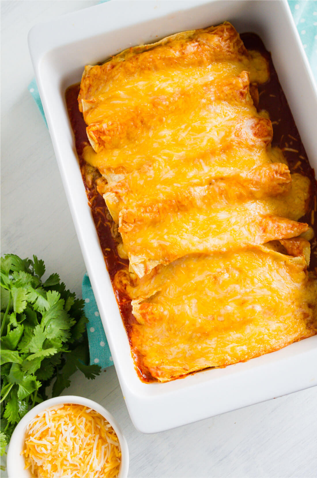 Easiest Beef Enchiladas Ever - you only need a few ingredients for this main dish!