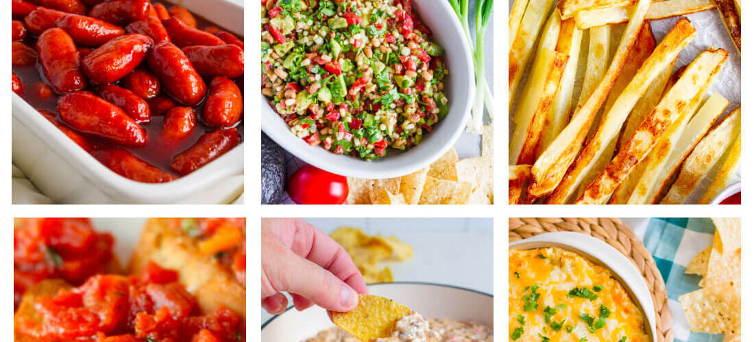 Over 50 Game Day Food - Appetizers + Sweets
