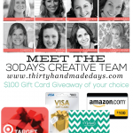 Meet the 30daysblog Creative Team - 8 amazing women with fantastic ideas! from www.thirtyhandmadedays.com