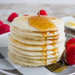Healthy Pancake Recipe - make these 4 ingredient pancakes in the blender!
