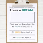 I have a dream - Martin Luther King Jr printable