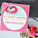 Loom Valentine's Day Idea with Printable Card