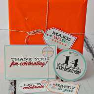 Fun Birthday Printables- Tags + Thank You Notes