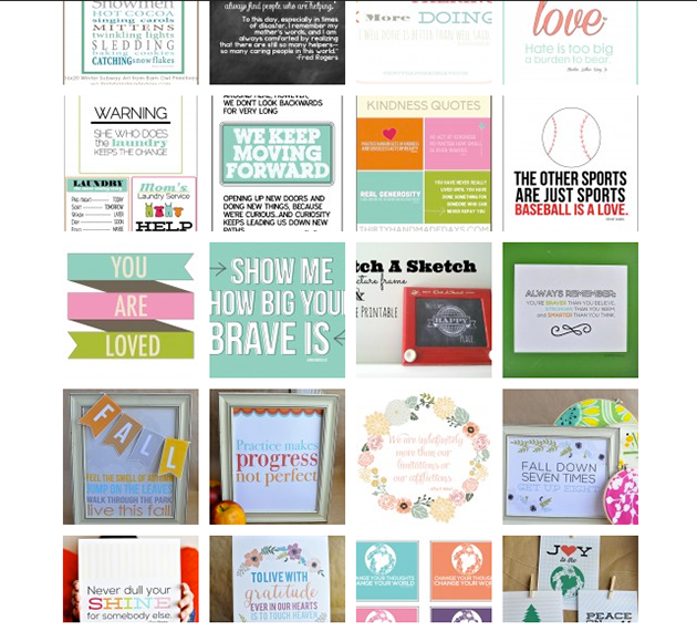 Printable Quotes from www.thirtyhandmadedays.com