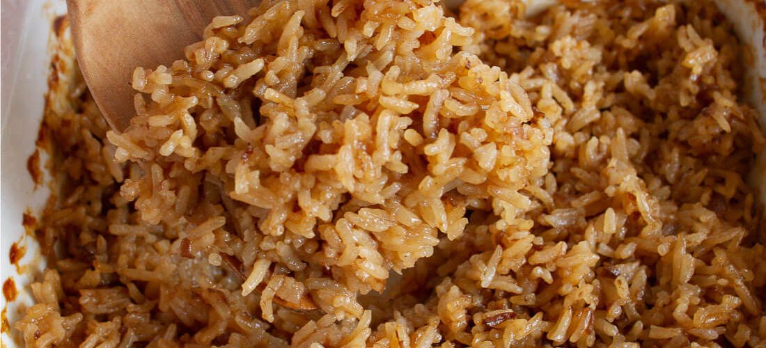 Stick of Butter Rice- the best rice you'll ever eat
