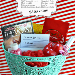The Vow Valentine's Date Idea Basket Giveaway - $100 value from www.thirtyhandmadedays.com