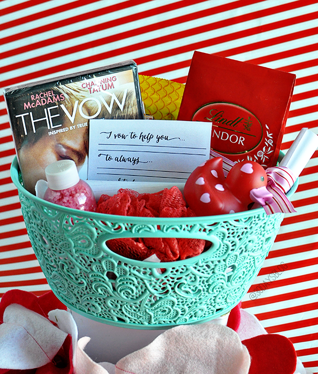 The Vow Giveaway Basket- $100 value from www.thirtyhandmadedays.com