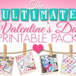Over 20 Valentine's Day Printables Pack!