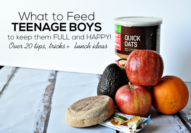 Healthy Snacks For Teens