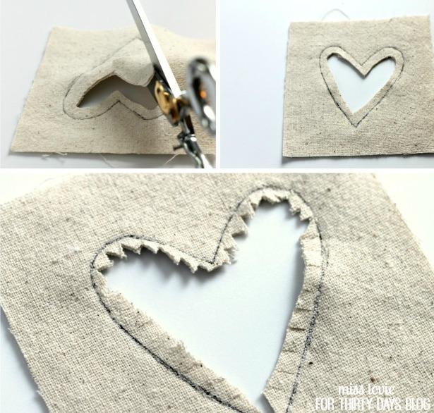 05 Inverse Applique Fabric Coasters