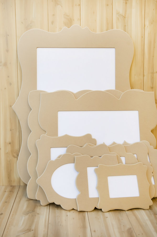 Awesome Cut It Out Frames - lots of shapes and sizes.  The perfect blank canvas!  http://bit.ly/1fvdv2B
