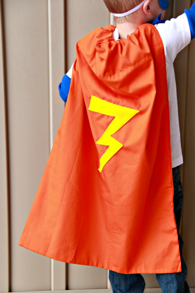 Pillowcase Superhero Cape 3