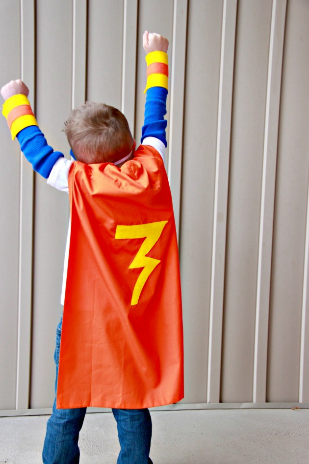 Pillowcase Superhero Cape 5