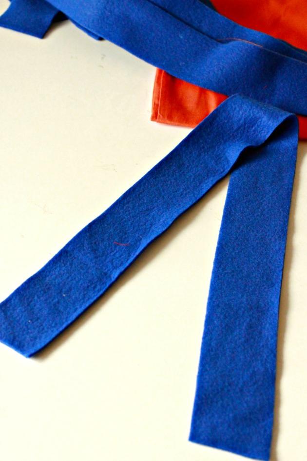 Pillowcase Superhero Cape DIY 3