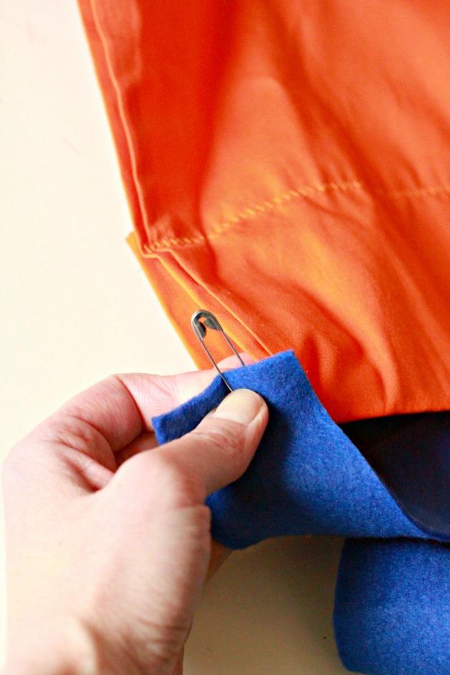 Pillowcase Superhero Cape DIY 4