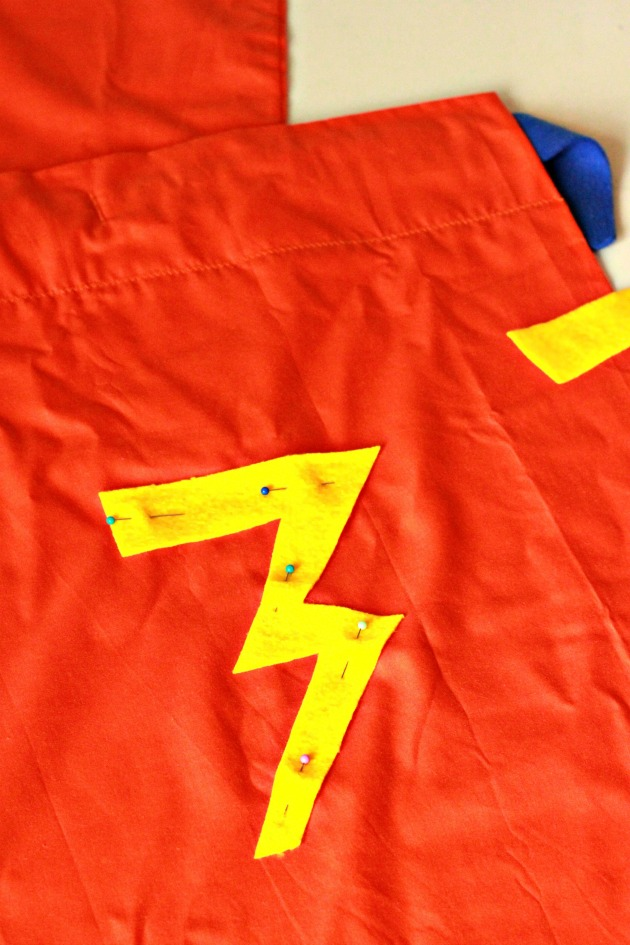 Pillowcase Superhero Cape DIY 6