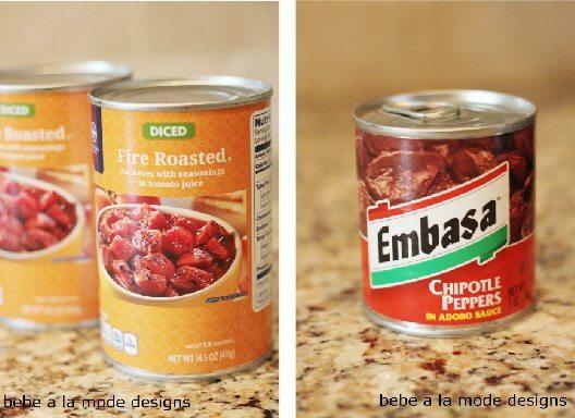 Tinga Recipe Canned Ingredients