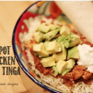 Crockpot Chicken Tinga