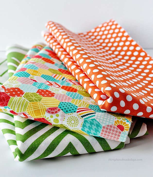 My favorite fabrics giveaway  - win over 36 yards! www.thirtyhandmadedays.com