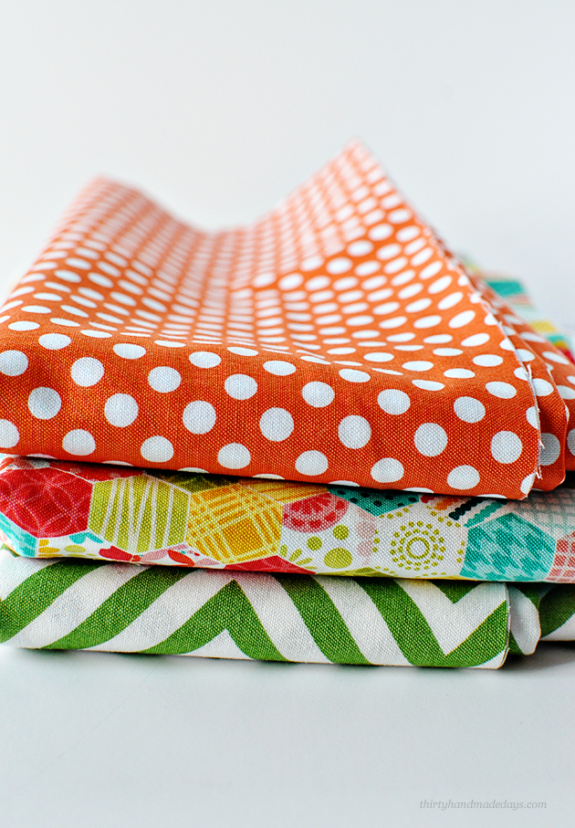 My favorite fabrics giveaway  - win over 36 yards! from www.thirtyhandmadedays.com