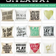 Super Cute Pillows for a Full Year!