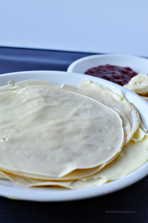 Russian Blini- aka Crepes that are so easy to make using ingredients you have on hand already