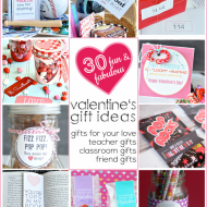 30 Fun & Fabulous Valentine's Day Gift Ideas for Everyone You Love!