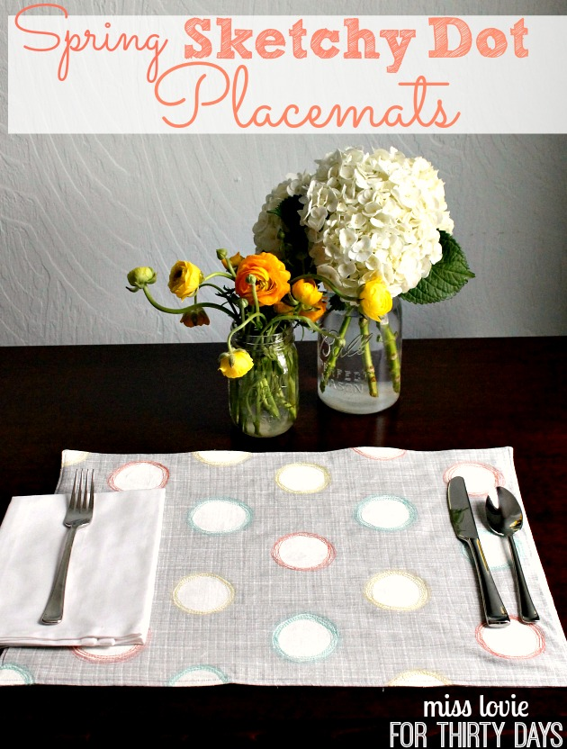 12 Easy DIY Placemats