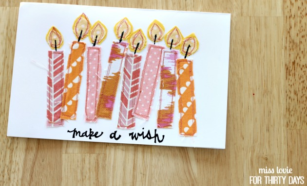 13 Make A Wish Handmade Card