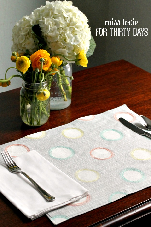 15 Spring Placemats