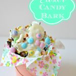 Pastel Easter Candy Bark
