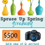 Spring Spruce Up Giveaway with some of my favorite bloggers!