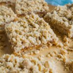 Apricot Crumb Bars - simple to make and oh so tasty via www.thirtyhandmadedays.com