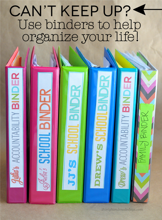 image about Life Binder Printables called Cant Maintain Up? How in direction of Seek the services of Binders in direction of Set up Your Lifetime