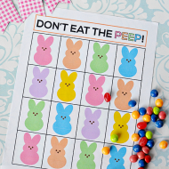Don't Eat the Peep Easter Game