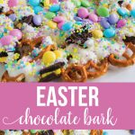 Easter Chocolate Bark - a really tasty, pretty treat for Easter from www.thirtyhandmadedays.com