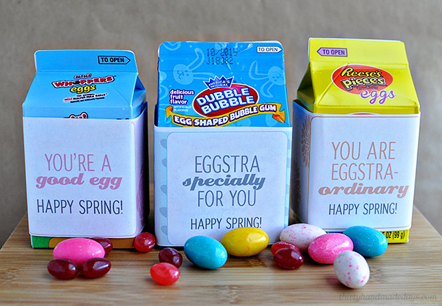 Fun Egg Carton printables for the spring and Easter from Thirty Handmade Days