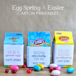 Fun Egg Carton printables for the spring and Easter | Thirty Handmade Days