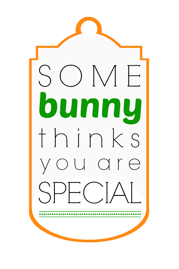 Easter Some Bunny Special Tag