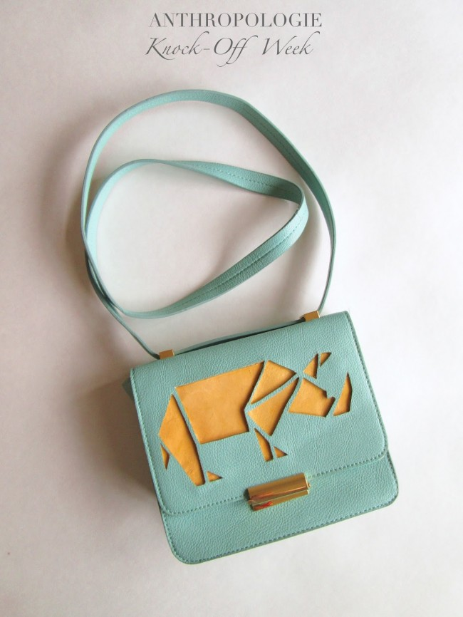 Rhino Cut Out Purse - Anthro Inspired