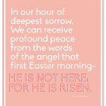 Printable Easter Quote | Thirty Handmade Days