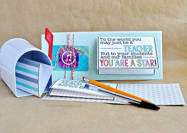 Teacher Appreciation Note Ideas