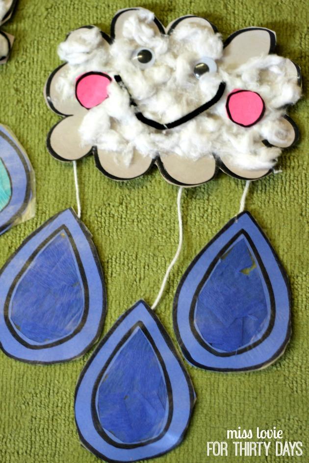 08 RainDrop and Cloud Craft