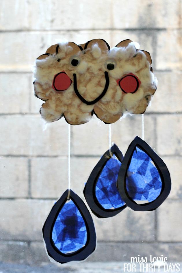 13 Happy Rain Cloud Craft