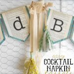 Napkin tassels featured on Thirty Handmade Days