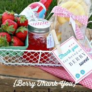 Strawberry Shortcake Kit { Thank You Gift }