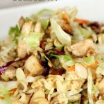 Asian Coleslaw - a delicious side dish or main dish to try out.