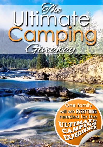 Ultimate Camping Giveaway with a huge prize pack for one lucky winner! www.thirtyhandmadedays.com