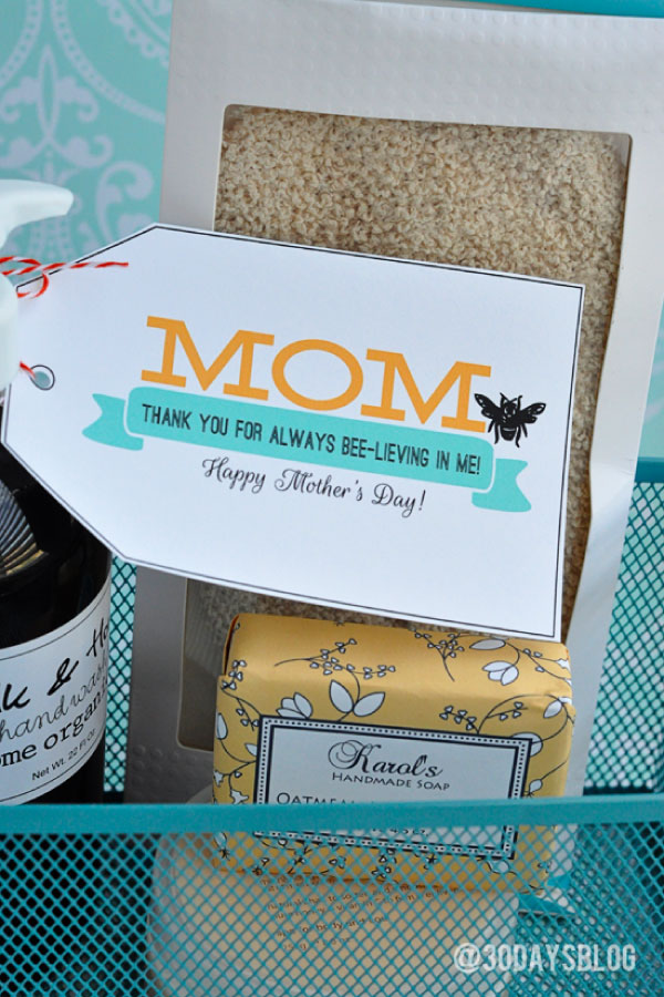 Mother's Day Gift Ideas - print out these cute gifts for your mom.