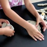 Sand Play Dough from Simply Modern Mom